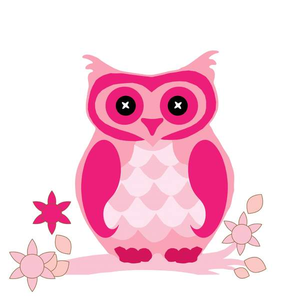 owl-clipart-cute-pink